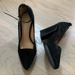 Tory Burch Ankle Strap Platform Heel